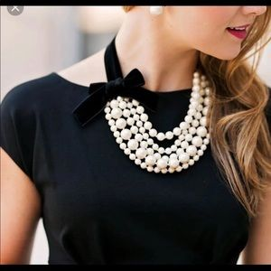 Kate Spade! Statement Pearl Necklace